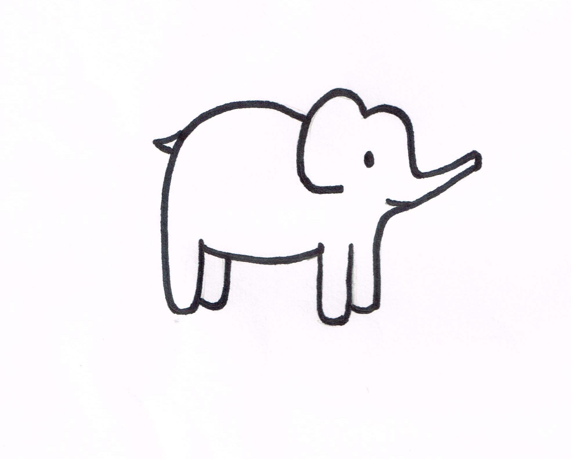 Little Elephant Template | Kaesey