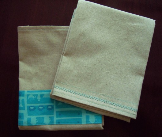 Tutorial: Linen Dish Towels