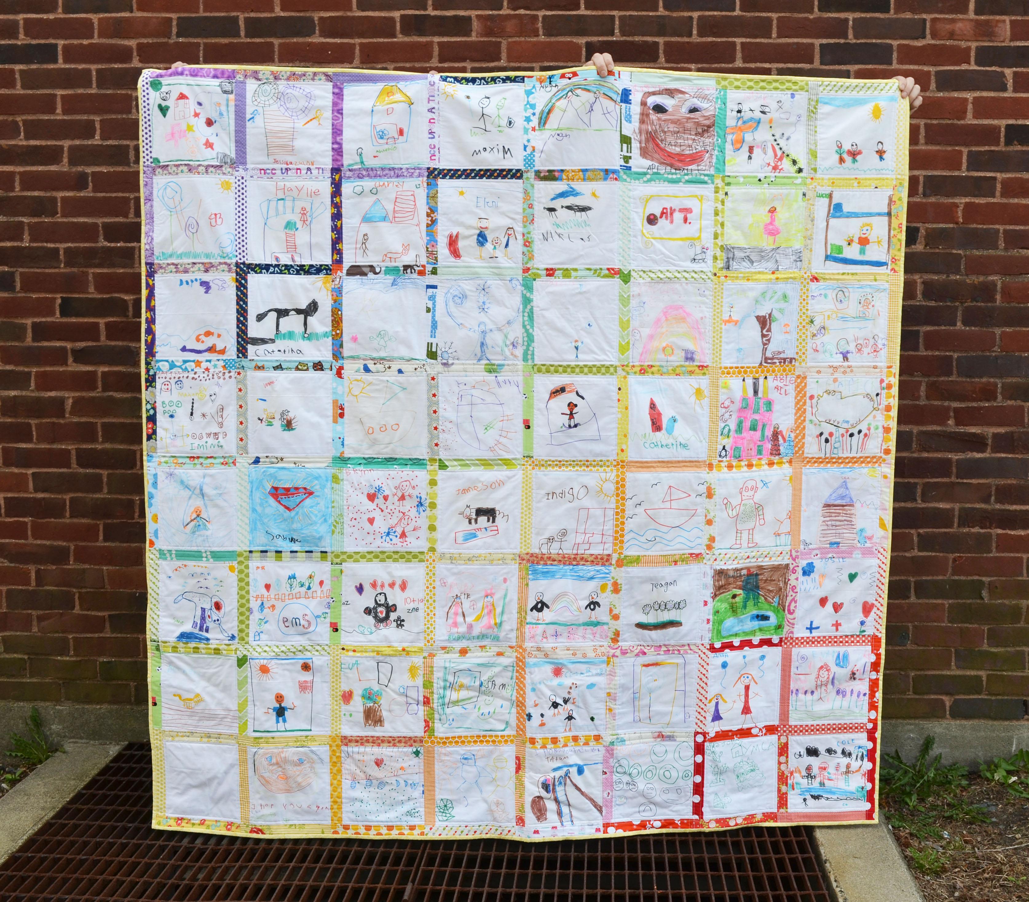 Quilt Patterns For Kindergarten : The Kindergarten Quilt Project Kaesey