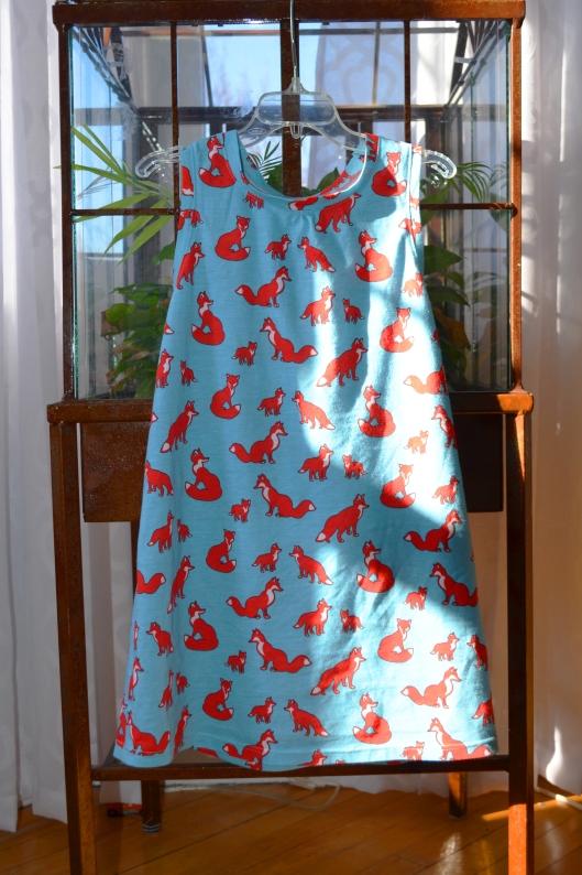 fox dress_sunlight