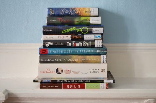 June book stack