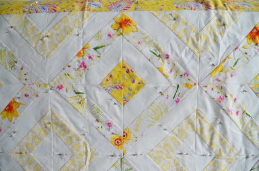 sunshine quilt detail