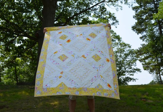 Blowing quilt