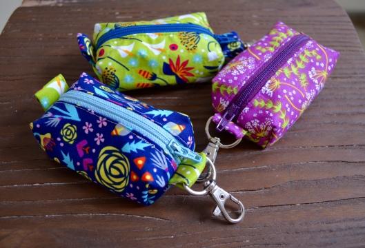 mini zip pouches